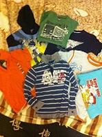 Отдается в дар Детские вещи на мальчика.