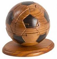 Отдается в дар Мяч-пазл деревянный 3Д.