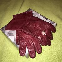 Отдается в дар Кожаные перчатки для элегантных дам, размер 7/7,5