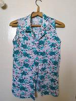 Отдается в дар Блузка рубашка летняя 44-46