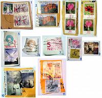 Отдается в дар Гашёные марки (Европа)
