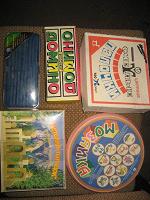 Отдается в дар Мозайка детская, домино детское, конструктор, палочки для счета