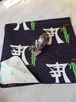 Отдается в дар Плед в японском стиле