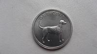 Отдается в дар Монета 1 цент 2003 Острова Кука. Собака