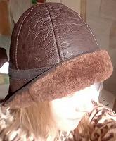 Отдается в дар Шапка-шляпка зимняя