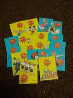 Отдается в дар карточки с героями Дисней