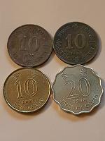 Отдается в дар Монеты Гонконг