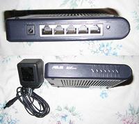 Отдается в дар Роутер с 4 LAN и 1 WAN портами