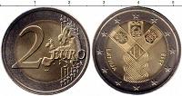 Отдается в дар 2 евро. Латвия.100 лет Независимости Прибалтийских государств