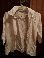 Отдается в дар Блуза белая хлопок 44-46