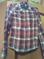 Отдается в дар рубашка женская 40-42 р