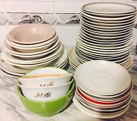 Отдается в дар Советская посуда
