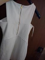 Отдается в дар Платье стрейч белое