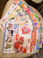 Отдается в дар Журналы «Вышиваю крестиком» 2010г