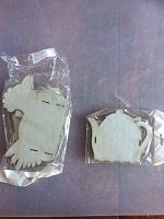Отдается в дар вырубки картонные — ШКАТУЛКИ 2 шт