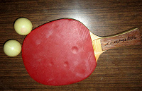 Отдается в дар Ракетка для настольного тенниса