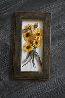 Отдается в дар Панно с цветами