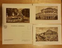 Отдается в дар Старые открытки: город Винница и рецепты.