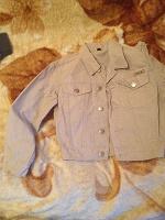 Отдается в дар хб курточка на мальчика