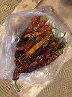 Отдается в дар пакет сухого перца Чили