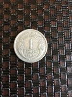 Отдается в дар 1 франк Франции 1948 года.