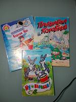 Отдается в дар Детские книги в мягких обложках формат А4