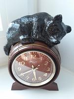Отдается в дар Часы с мишкой