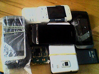 Отдается в дар Остатки старых сотовых телефонов