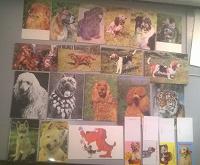 Отдается в дар открытки советские с собаками
