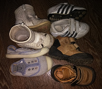 Отдается в дар Детская обувь разные сезоны