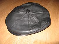 Отдается в дар женская кепка из кожи