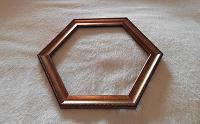 Отдается в дар Рамка шестиугольная