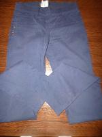 Отдается в дар Темно синие брюки «дудочки». 25.