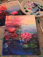 Отдается в дар Урок живописи