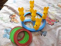 Отдается в дар игра «зайцы с кольцами»