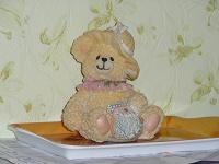 Отдается в дар фигурка Мишка девочка:)