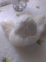Отдается в дар Песцовая шапка-ушанка