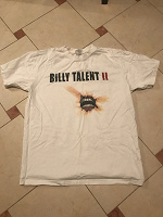 Отдается в дар Футболка белая billy talent