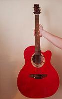 Отдается в дар Акустическая гитара