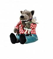 Отдается в дар IKEA ЛУФСИГ Мягкая игрушка волк
