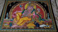 Отдается в дар Индийский платок с Ганеша.
