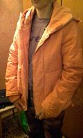 Отдается в дар Куртка оранжевая