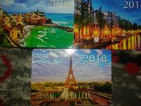 Отдается в дар Календарики города.