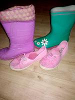 Отдается в дар одежда обувь для девочки на весну на рост 116-122