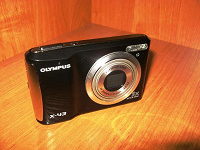 Отдается в дар Фотоаппарат цифровой Olympus X-43