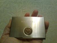 Отдается в дар Металлическая коробочка. Визитница