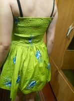 Отдается в дар Платье цвета мяты фирм р. М ( на бирке)
