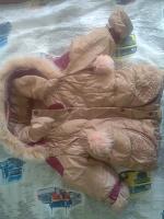 Отдается в дар зимняя куртка для девочки, на рост 104 +6 см