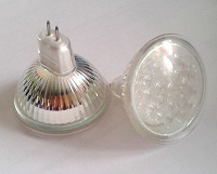 Отдается в дар 2шт LED-лампочки Camelion MR16-LED21