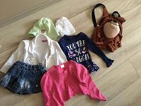 Отдается в дар Одежда для девочки от 80